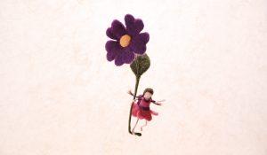Fée à la fleur